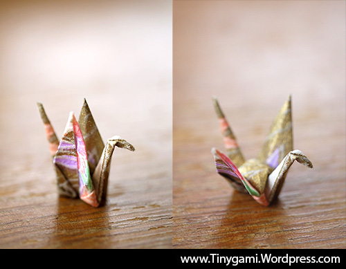 closed-flattened-origami-crane-tinygami