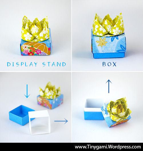 Tinygami Origami Surprise Gift Boxes